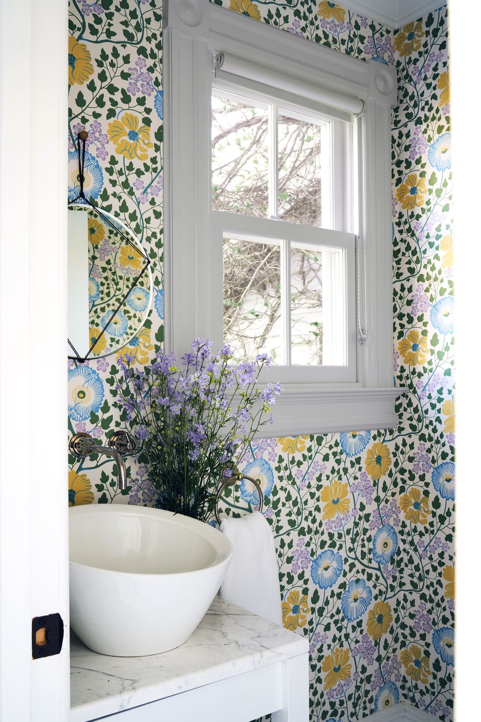 These Chic Wallpapered Bathrooms Will Convince You to Take the Plunge