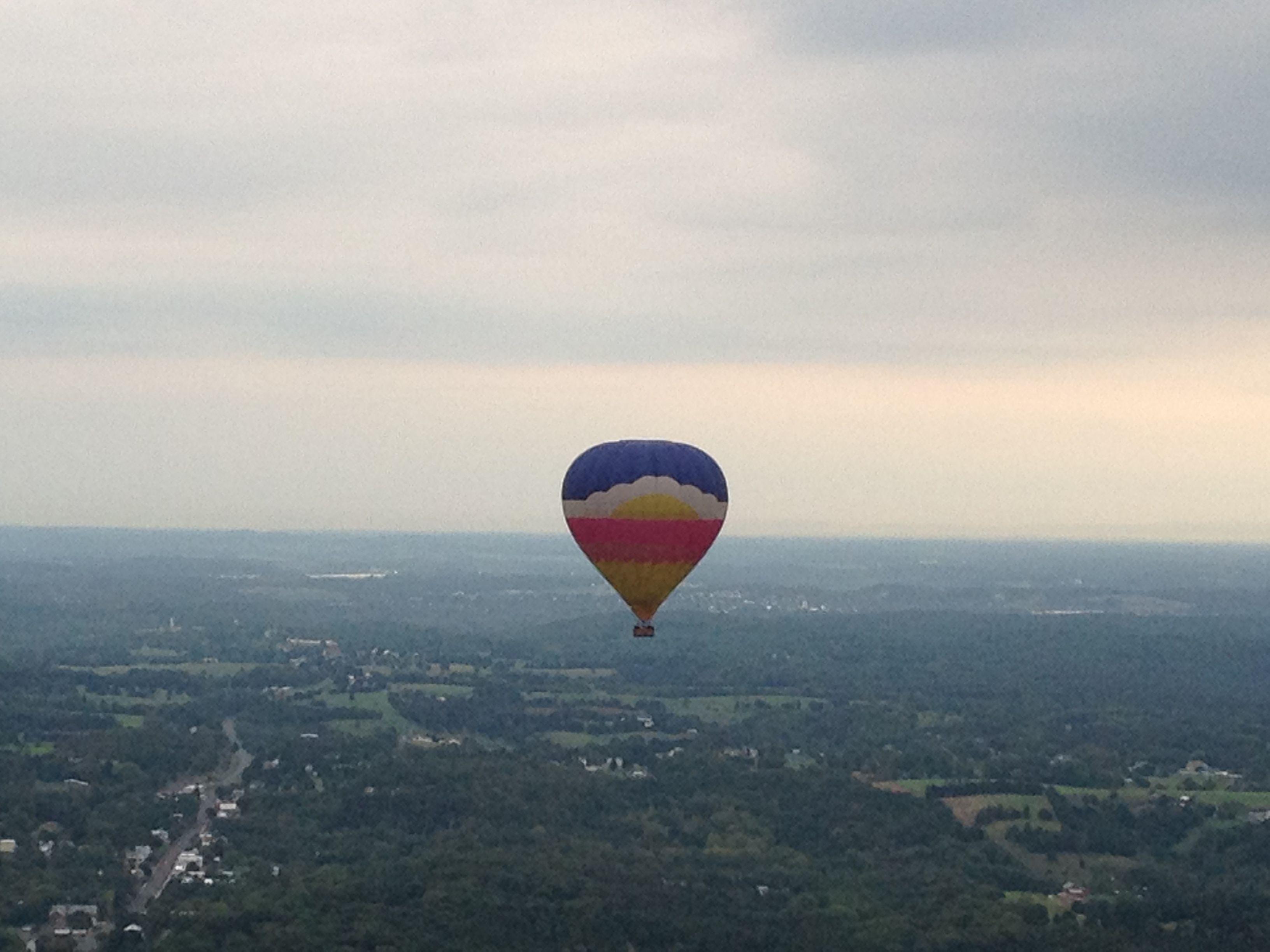 Valley Ballooning in Woodstock, VA