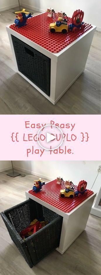 LEGO Duplo game and storage box #boyfriendgiftbasket