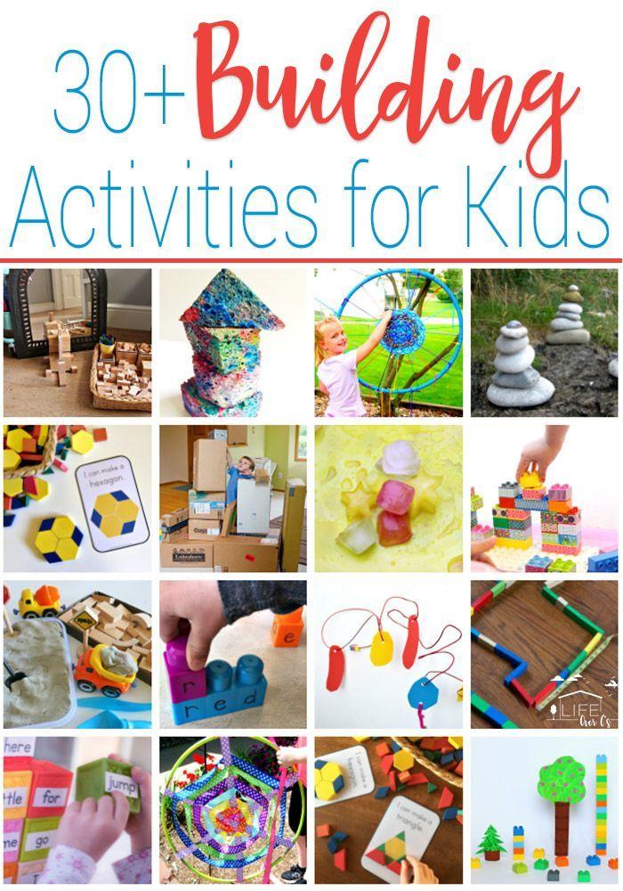 30+ Amazing Building Activities for Kids | Activities for ...