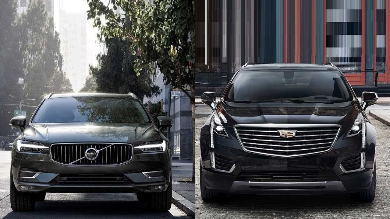 2018 Volvo Xc60 vs 2017 Cadillac Xt5 //youtube.com ...
