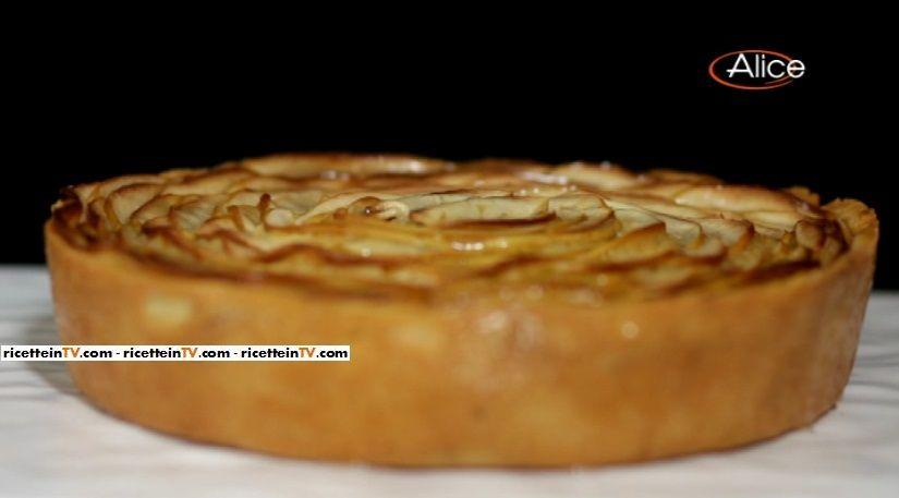 Biscotti Da Credenza Alice : La torta frangipane alle mandorle mela golden e cannella del