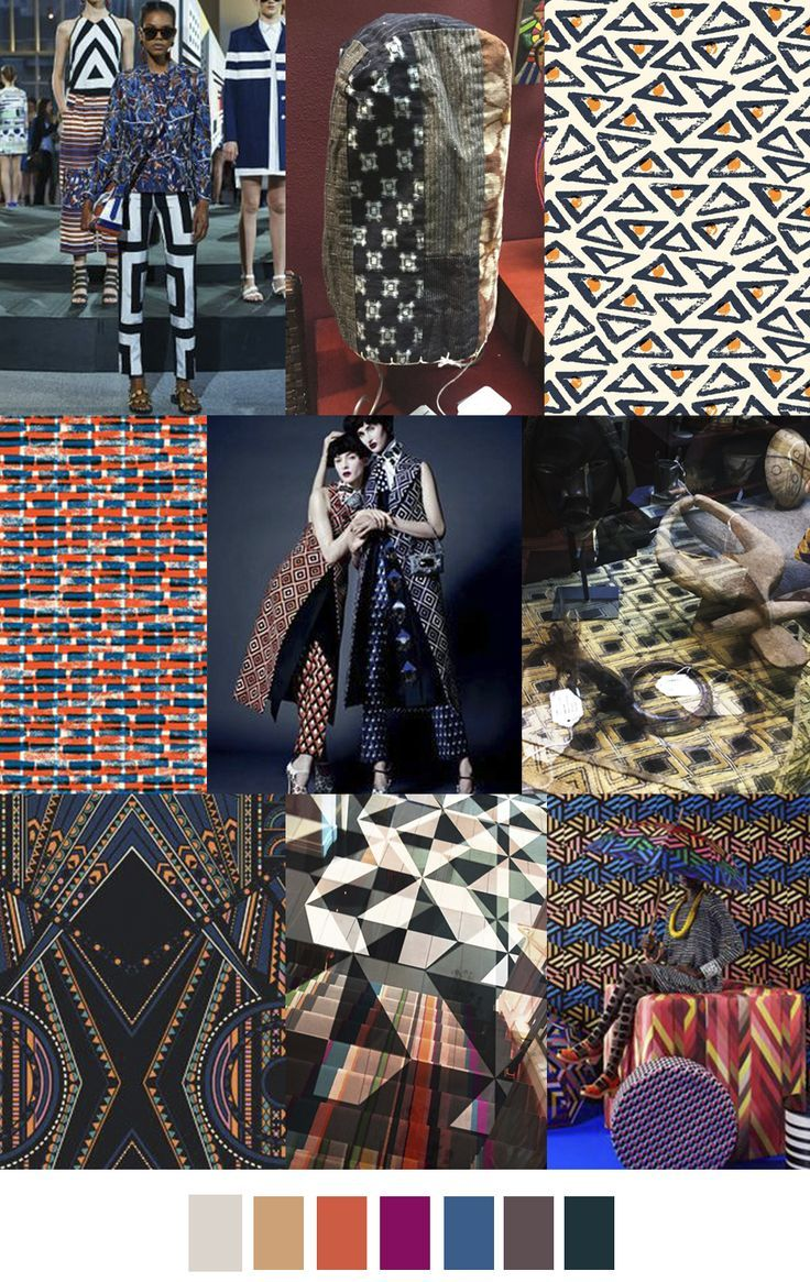 WORLD GEOMETRY on PatternCurator.org #FW18 #geometric # ...