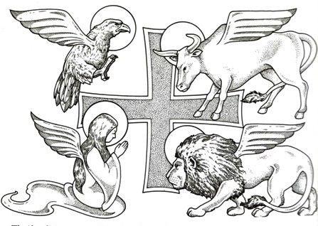 The Symbols Of The Evangelists Orthodox Pinterest Symbols