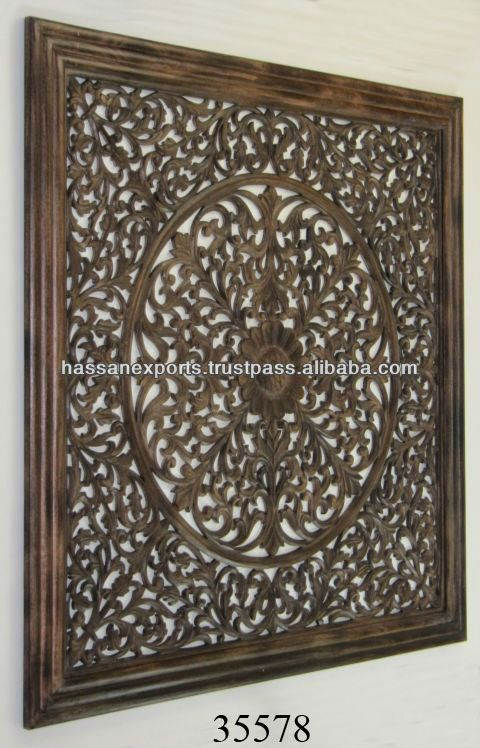 Mdf Carved Wooden Wall Panels View Mdf Carved Wooden Wall Panels Wooden Wall Panel Plaque Product Details From Hasan Import Export On Alibaba Com Wooden Wall Panels Wall Carvings Wooden Walls