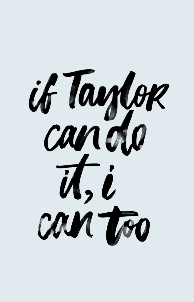 WORDS TO INSPIRE | YOU CAN!