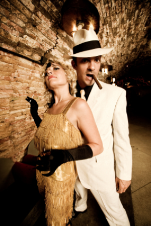 roaring 20s theme party ideas they used for local wedding get together