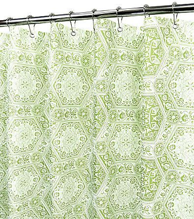 WatershedTM Venetian Tiles Shower Curtain