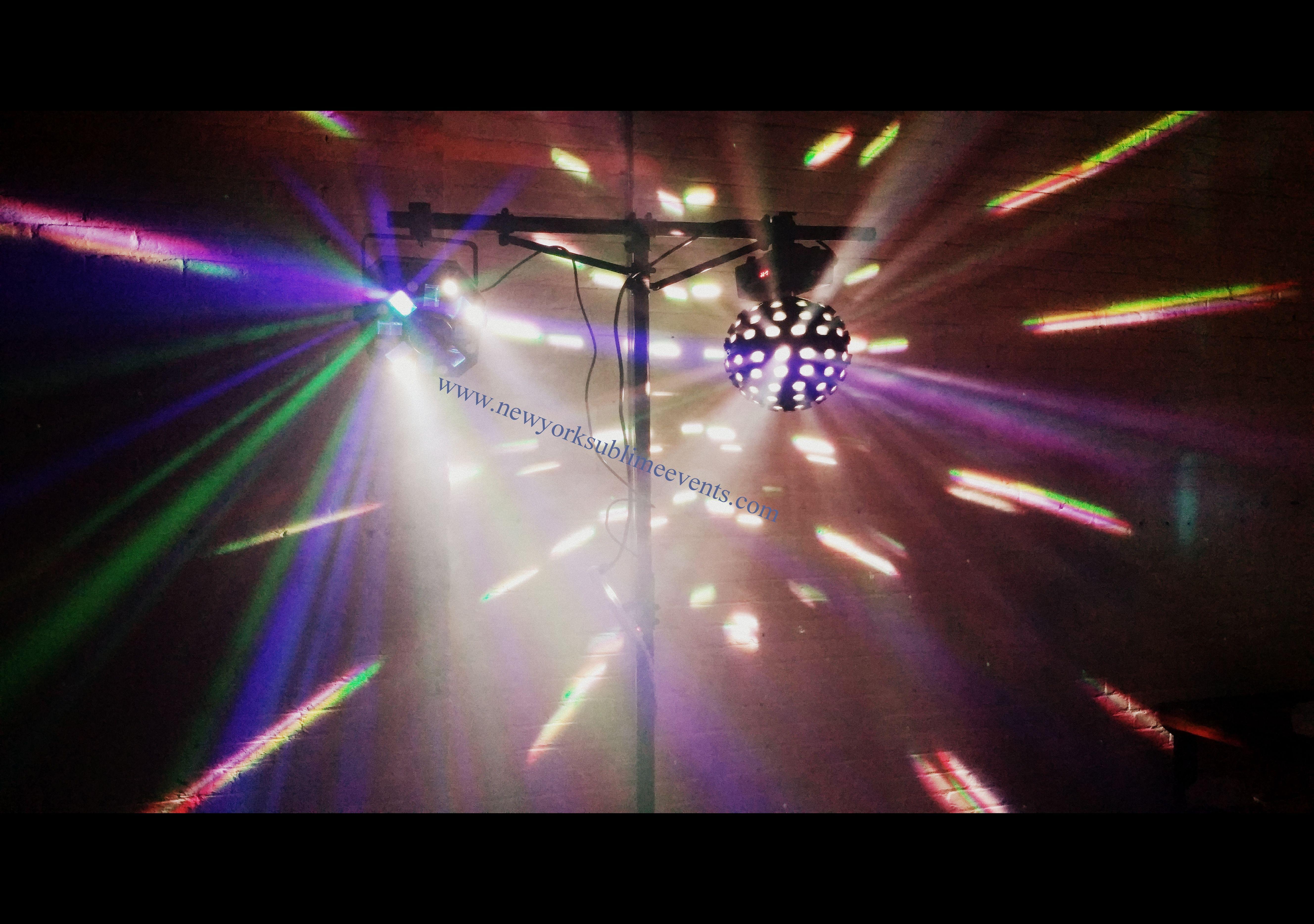Smoke Machine Rental >> Disco Lights Uplighting Fog Machine Laser Lights Strobe