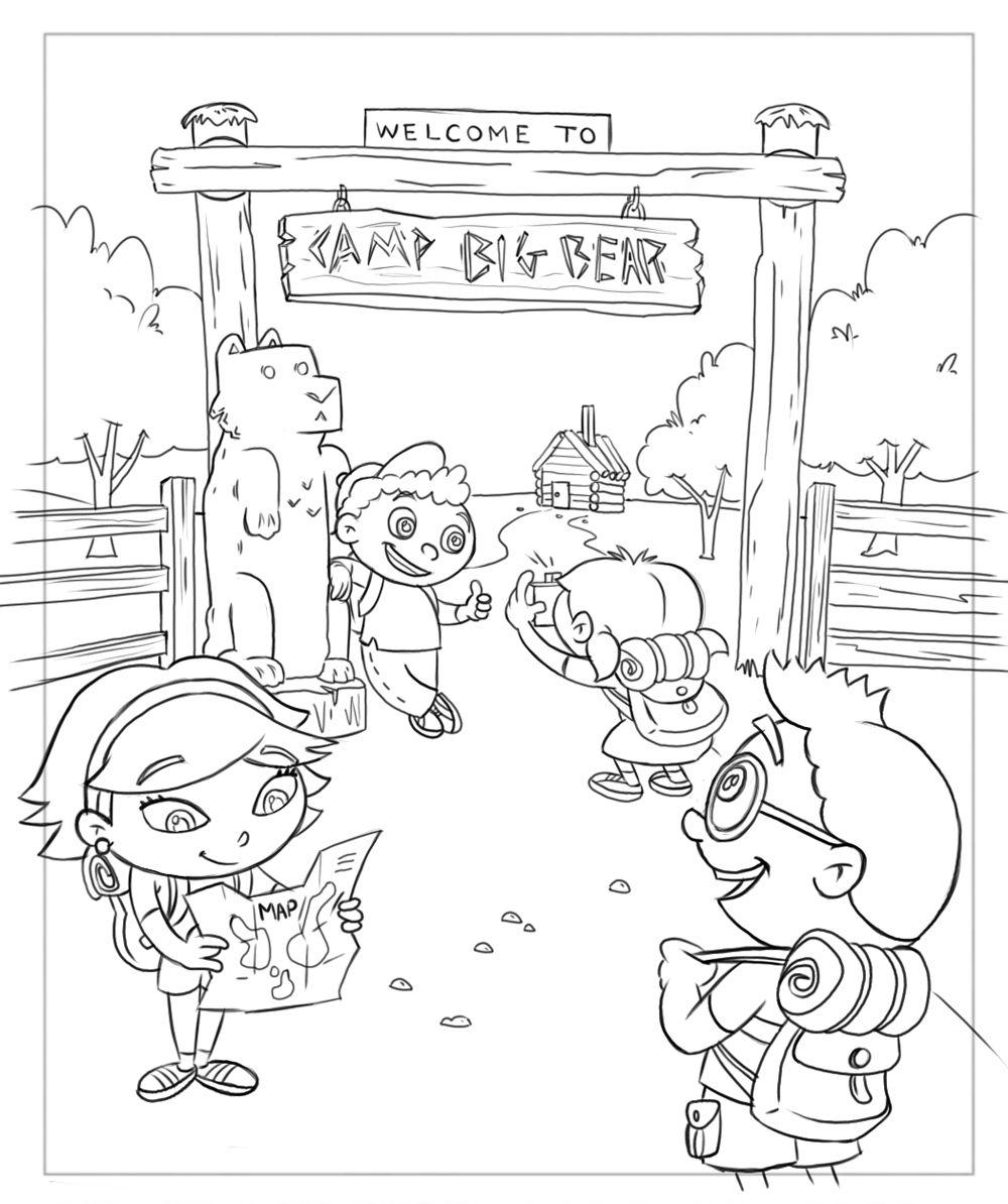 Little einsteins coloring games online - Little Einsteins Coloring Book Drawings Frank Summers