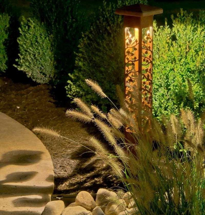 LED Gartenbeleuchtung originelle Gartenlampe