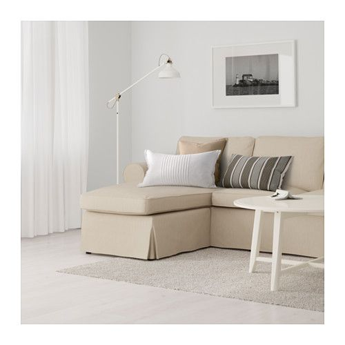 Ektorp 2er Sofa Und Recamiere Nordvalla Dunkelbeige Ikea 3er Sofa Ektorp Sofa Chaiselongue
