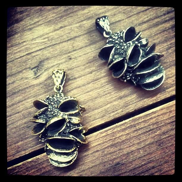 Tree pod pendants/ Comes in brass or white bronze/ Weight 17gr Oxidized to reveal the pattern https://www.facebook.com/forbiddenfruitjewelry