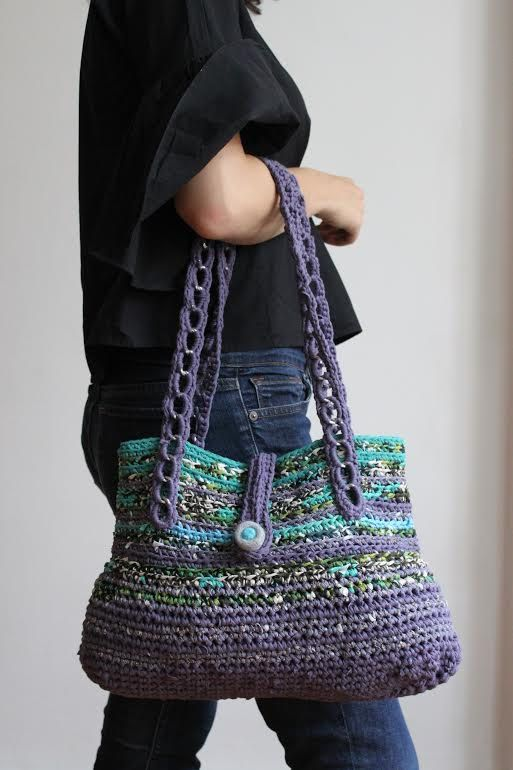 Lavender Purse by giftOclock on Etsy