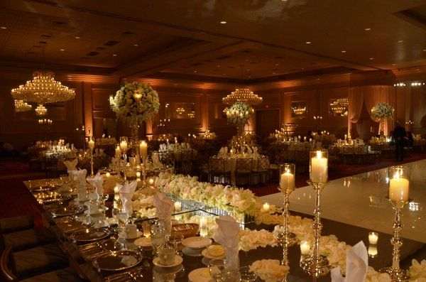 Elegant Wedding Reception Decoration Elegance For A At Drury Lane Fl