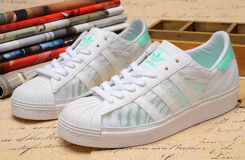 ADIDAS ORIGINALS SUPER STAR 80S WHITE GREEN D65890 | Adidas ...