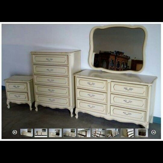 Best For Sale Mid Century Modern French Provincial 4 Pc 400 x 300
