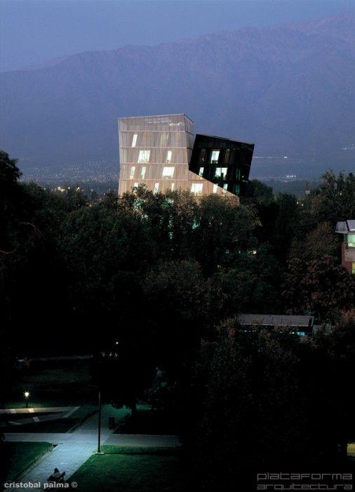 Torres Siamesas, Santiago Chile