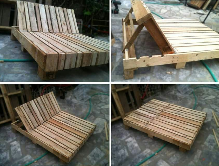 Pallet Futon Bed More