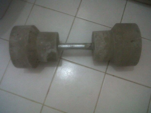 Weights at home make
