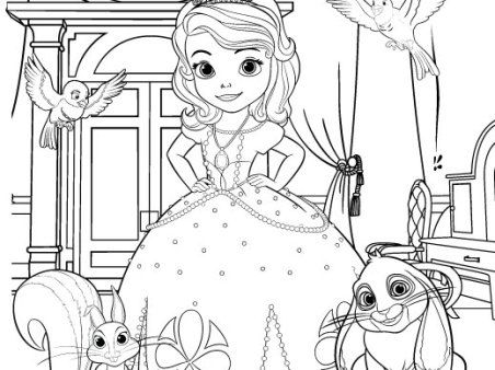 Sofia The First Party Noisemaker Decorations Disney Family Princess Coloring Pages Disney Princess Coloring Pages Pirate Coloring Pages