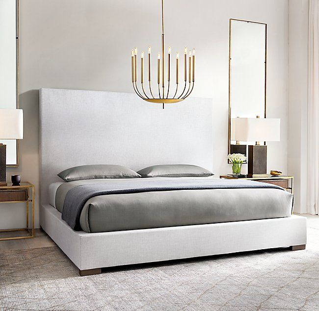 Best Modena Panel Nontufted Fabric Platform Bed In 2020 400 x 300