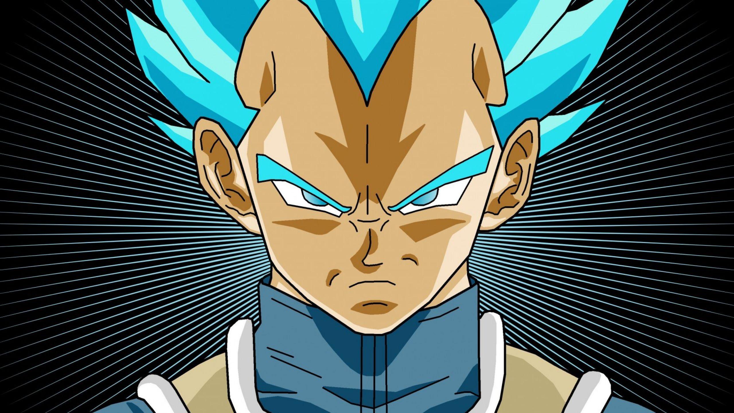 dragon ball super blue hair wallpapers