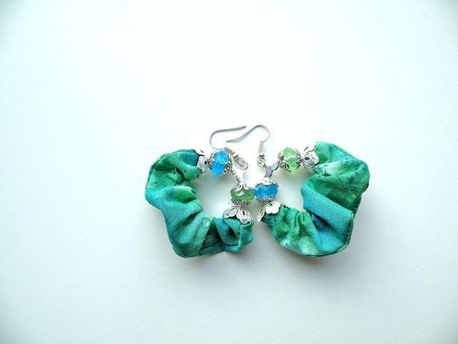 Batik-Earrings £12.00