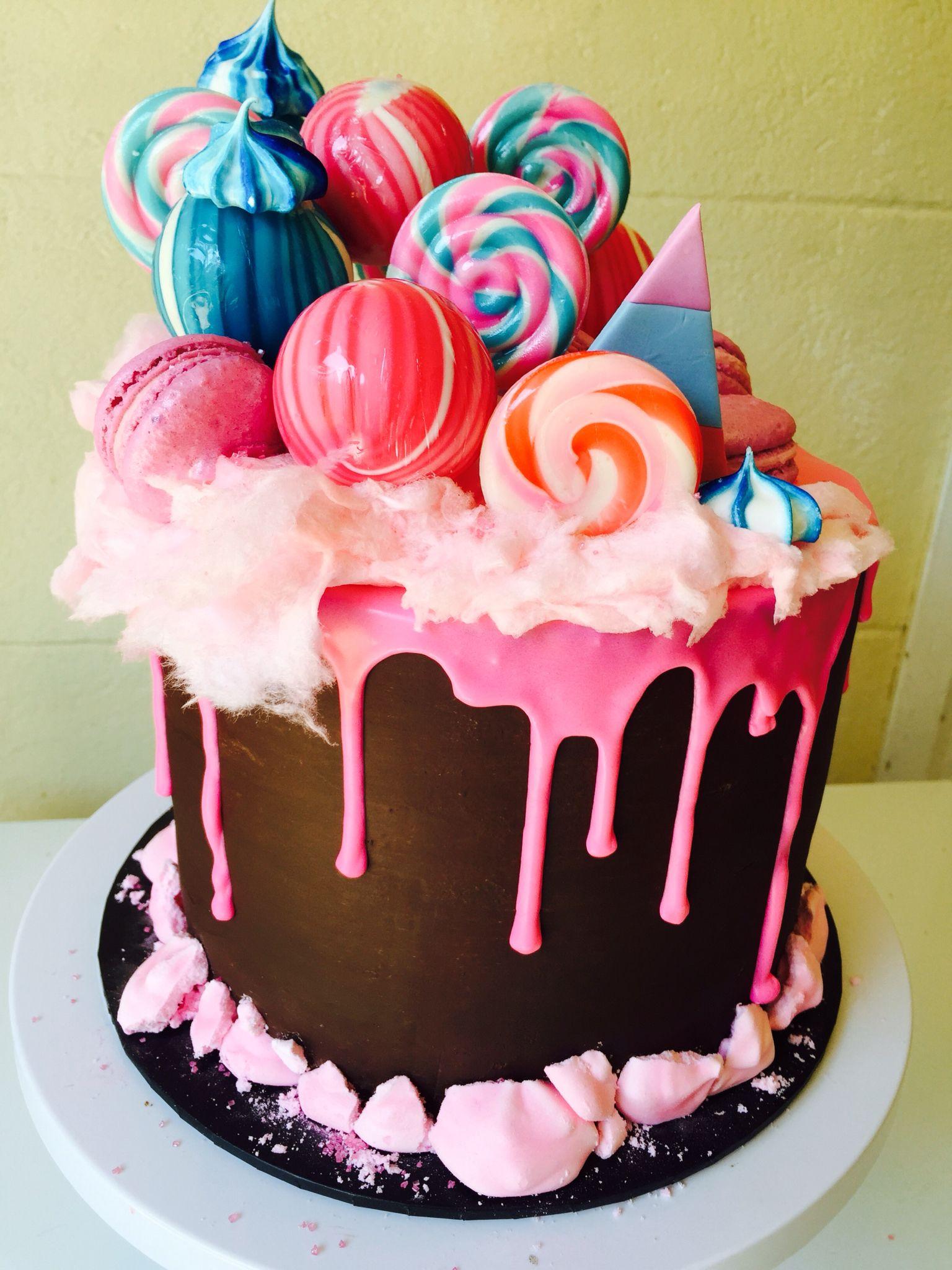 Katherine Sabbath Inspired Funfair Meets Candy Crush Cake
