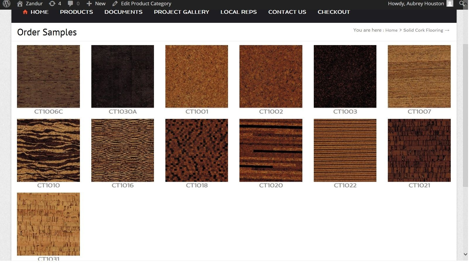 Visit The New Zandur Website To View And Order Samples