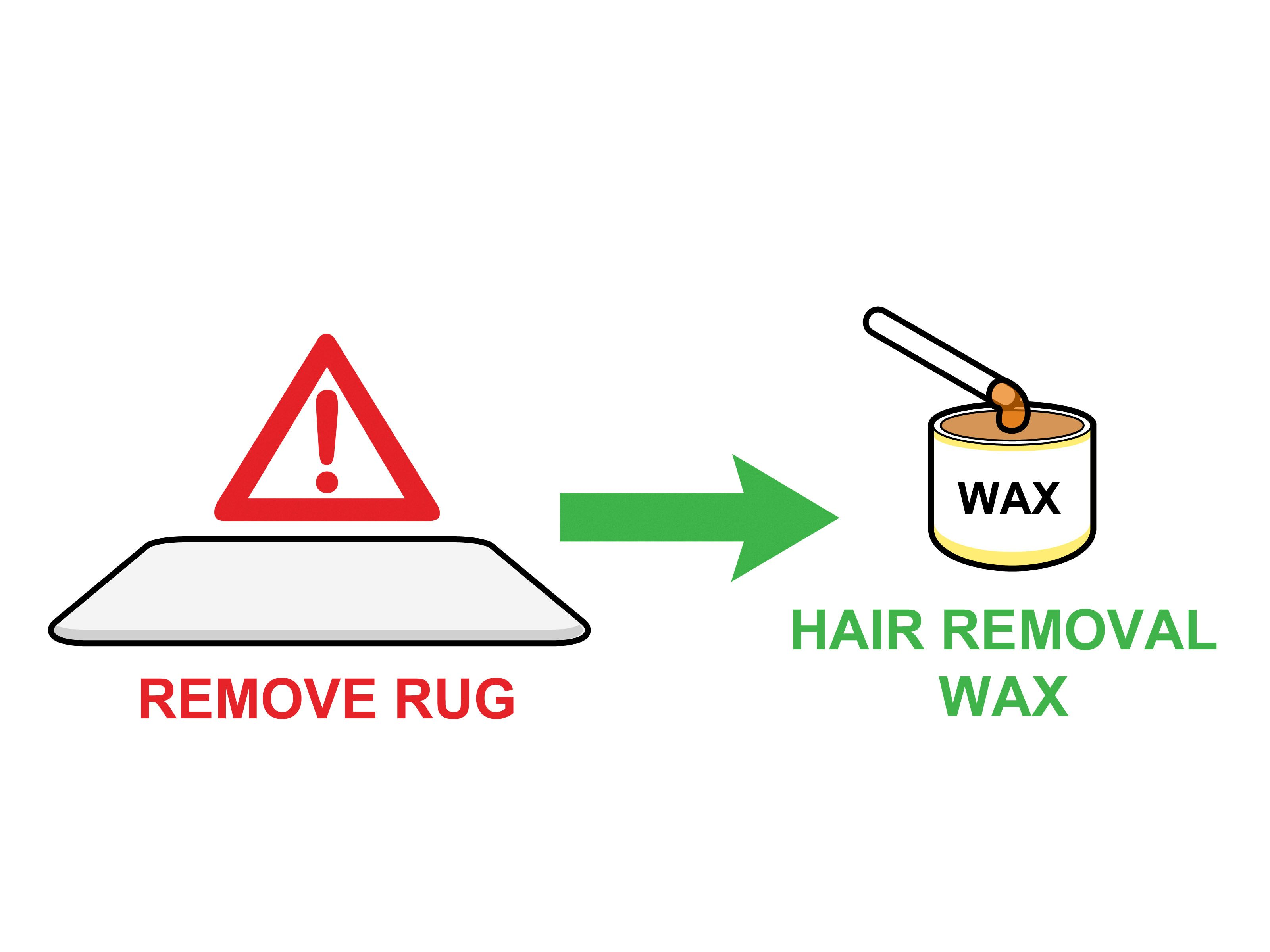 Get wax out of fabrics and carpet with images room