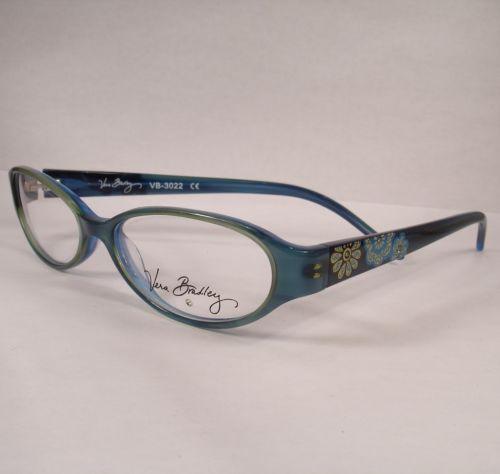 a3ccbbfbc6 Vera Bradley 3022 MFB Mod Floral Blue Women Eyeglass Eyewear New Frame  Glasses