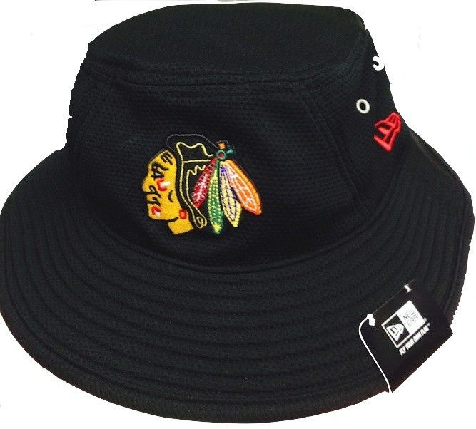 Chicago Blackhawks Dri-fit Bucket Hat-Black  49942816d32