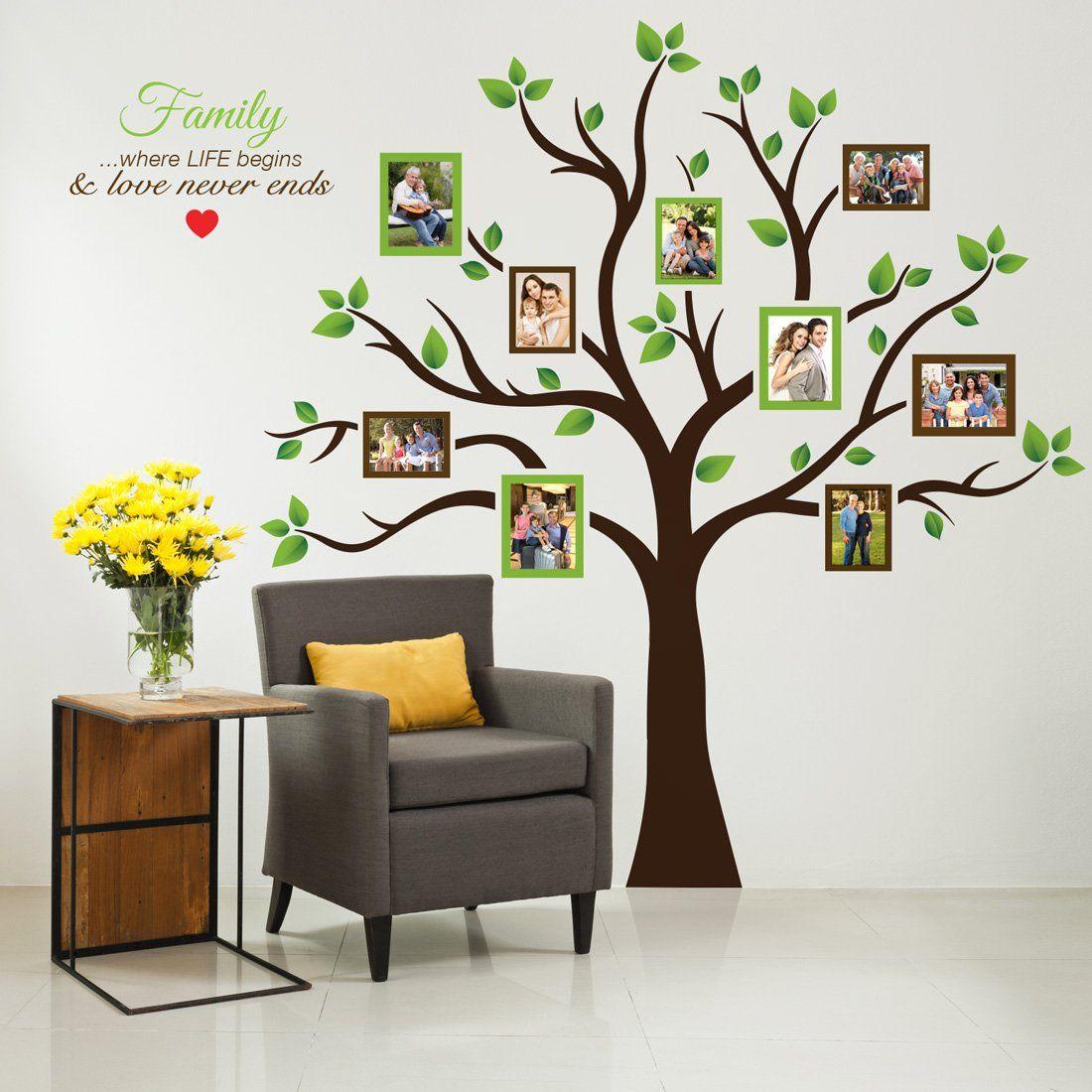 как сделать дерево с фотографиями каждый день