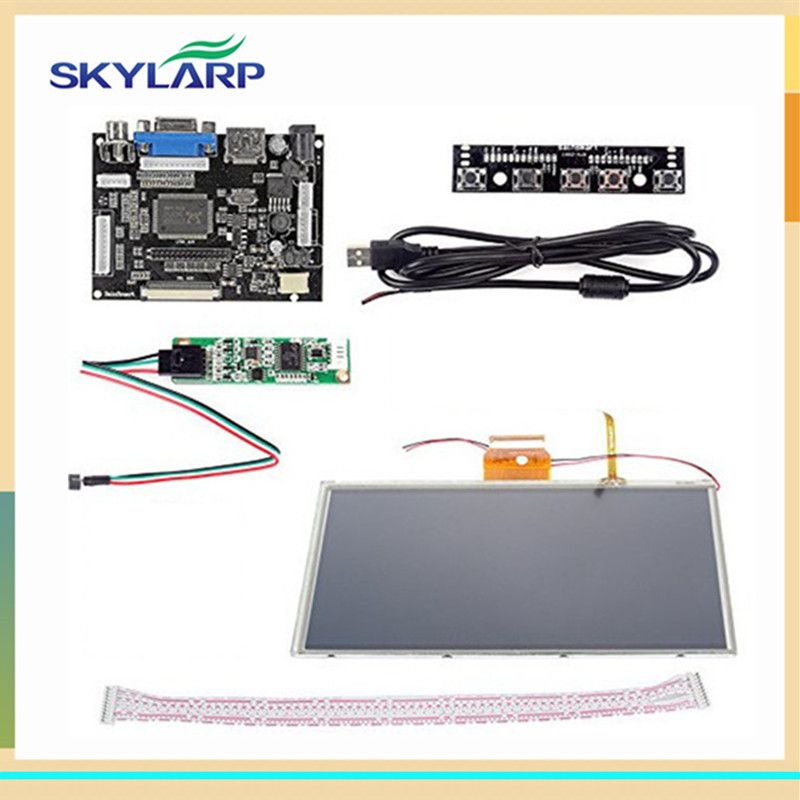 8eb3a47b262 skylarpu 9 inch for AT090TN10 HDMI VGA Digital LCD Driver Board with Touch  Screen for Raspberry Pi