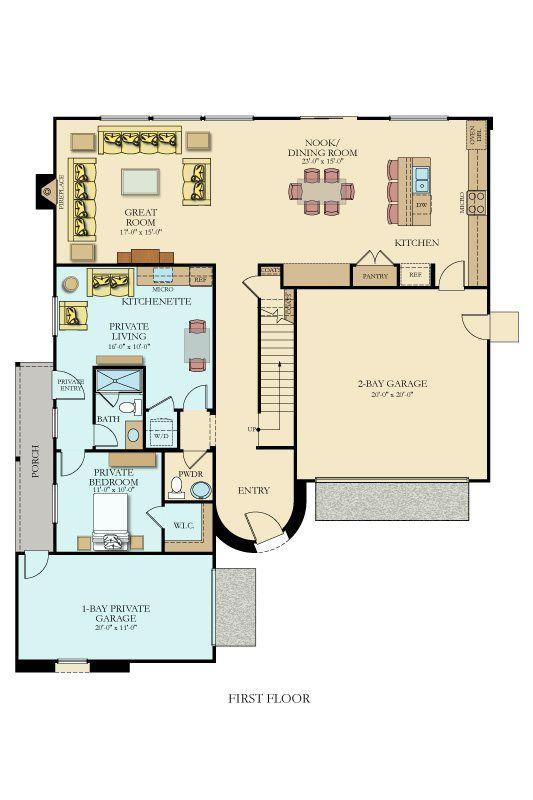 3093 Next Gen By Lennar New Home Plan In Cornerstone