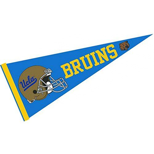 UCLA Full Size Football Helmet Pennant College Flags And