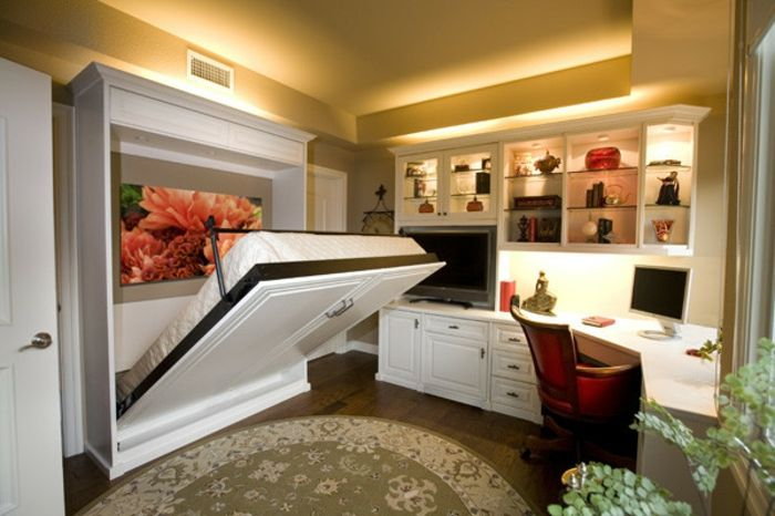 b ro und g stezimmer kombinieren ideen f r einen perfekten kombiraum schrankbetten b ros und. Black Bedroom Furniture Sets. Home Design Ideas