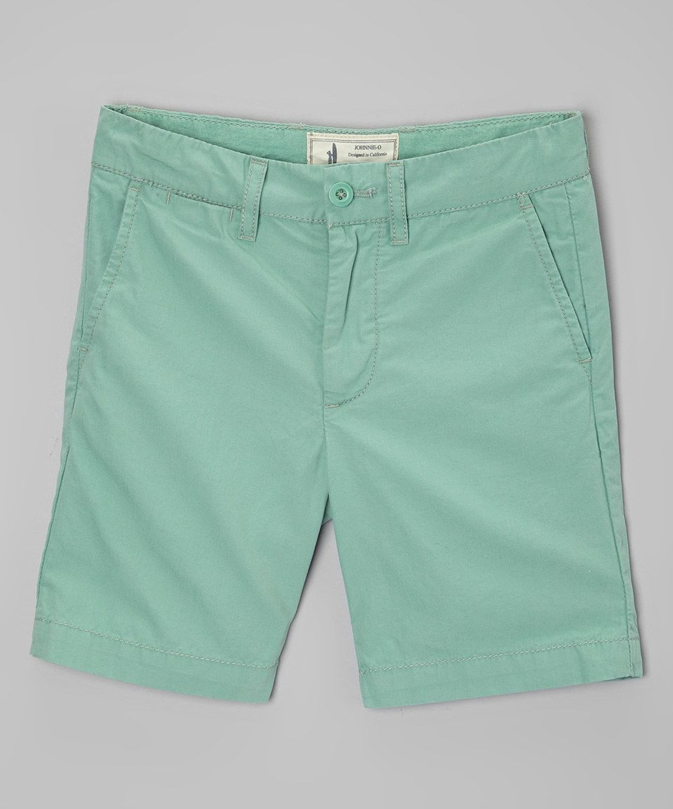This Eucalyptus Poplin Shorts - Toddler & Boys by johnnie-O is perfect! #zulilyfinds
