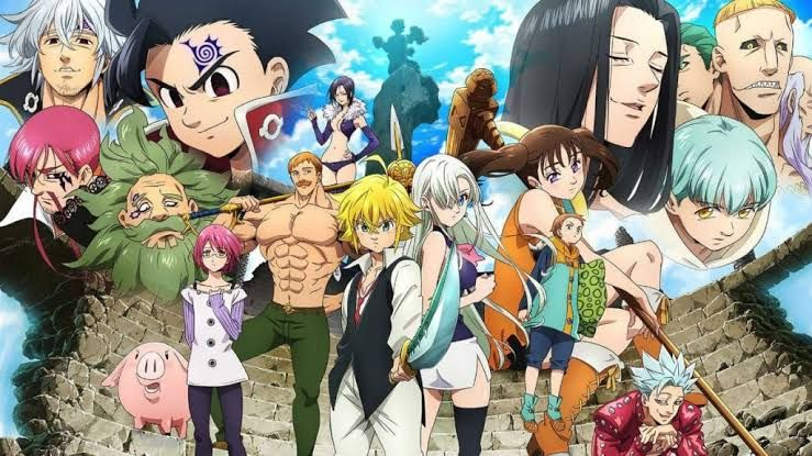 Nanatsu No Taizai Fundo No Shinpan Season 4 1080p 300mb 720p 150mb Epsiode 07 In 2021 Seven Deadly Sins Anime Anime Seven Deadly Sins