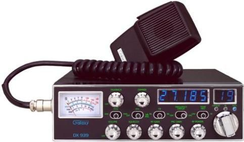 Galaxy Dx 939 Cb Radio With 5 Digit Frequency Display 40 Channels
