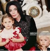 Michael Jackson and children Paris Michael Katherine Jackson ...