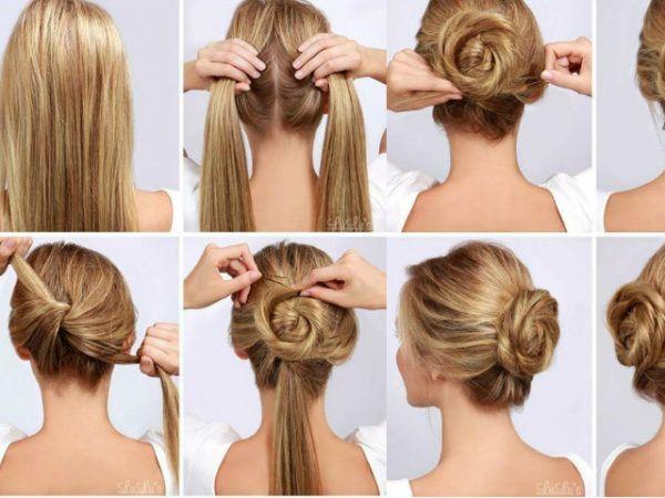 Pin De Seline En Peinados Peinados Faciles Para Cabello Largo Peinados Faciles Paso A Paso Peinados Faciles Pelo Corto