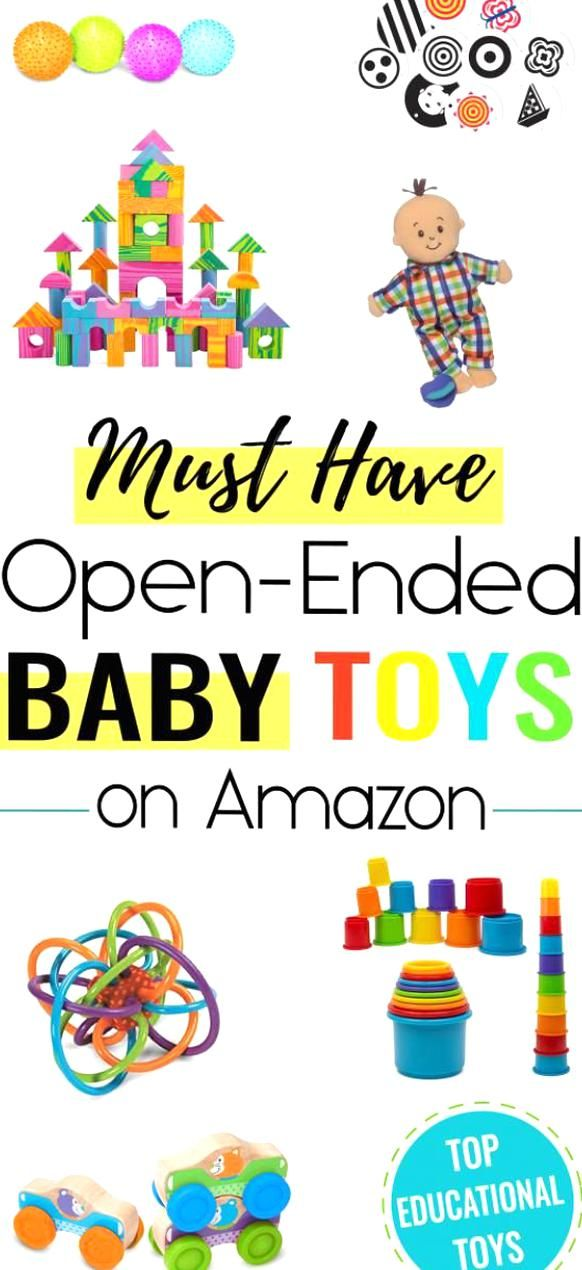 Baby toys can be educational and the best baby toys are open-ended These must have infant toys are a