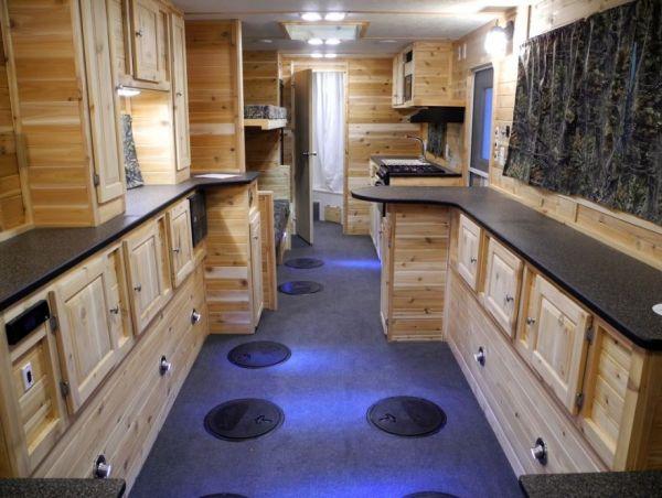 Luxury ice fishing shacks neat design and fashion for Ice fish house