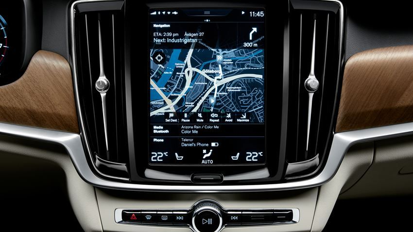 volvo s90 gps navigation system cars beautiful cars. Black Bedroom Furniture Sets. Home Design Ideas