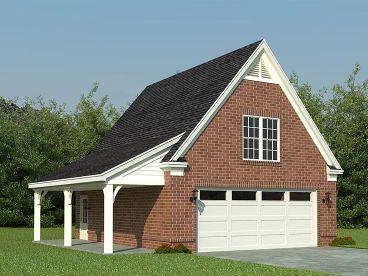 Plan 006G-0081 - Garage Plans and Garage Blue Prints from The Garage Plan Shop #garageplans