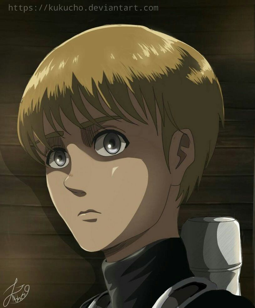 Armin Arlert They Did This In The Art Style Of The Anime