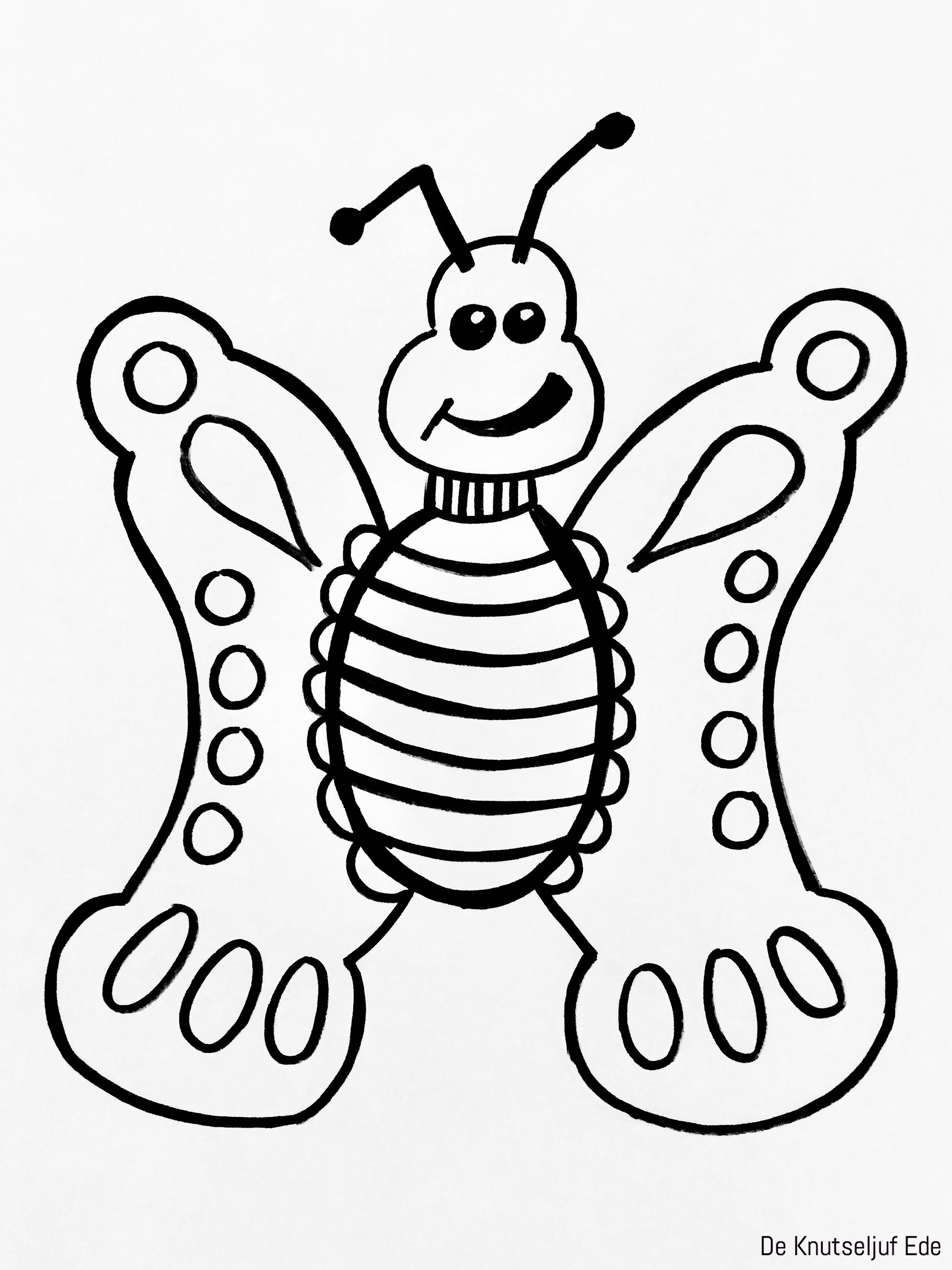 Kleurplaten Vlinders En Rupsen.Van Eitje Tot Vlinder Kleurplaten Kleurplaat Kleurplaten