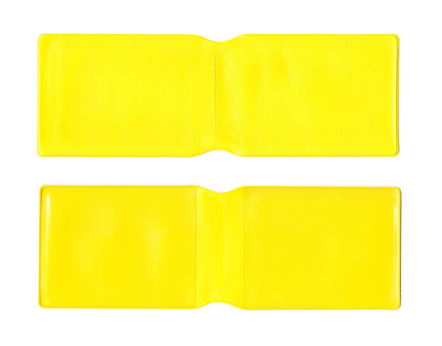 1 X Yellow Plastic Oyster Card Wallet Credit Card Holder Id Card Wallet Business Card Holder Travel Pass Oyster Card Card Wallet Business Card Holders